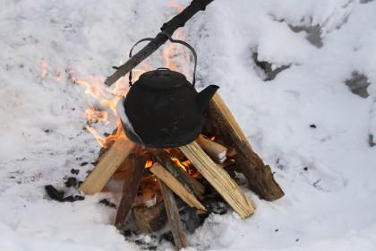 feu hiver
