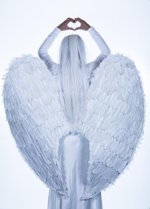 ange femme amour