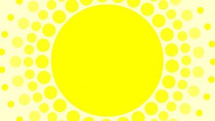 jaune soleil pois