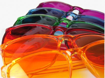 lunettes de couleur