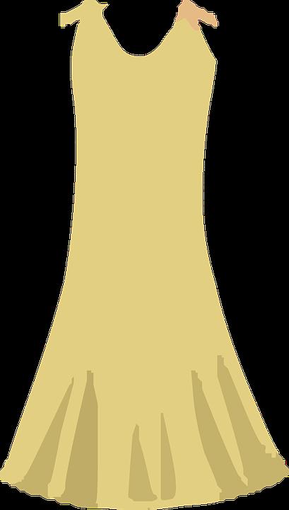 jaune robe